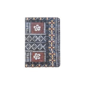 Fiji Tapa Cloth Print Passport Cover