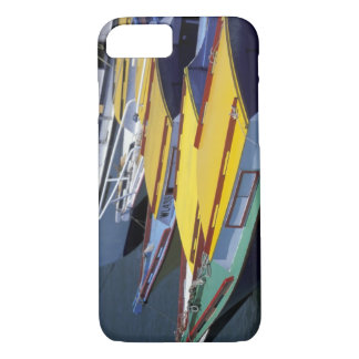 Fiji, Viti Levu, Lautoka, Small boats in Port of iPhone 8/7 Case