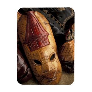 Fiji Viti Levu Masks at a town market Magnet