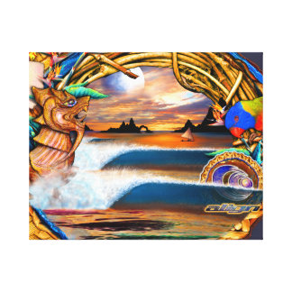Fijian Dream limited edition Canvas Print
