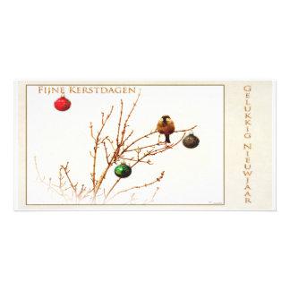 Fijne Kerstdagen en Gelukkig Nieuwjaar_Foto kaart Persoonlijke Fotokaart