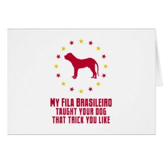 Fila Brasileiro Greeting Cards