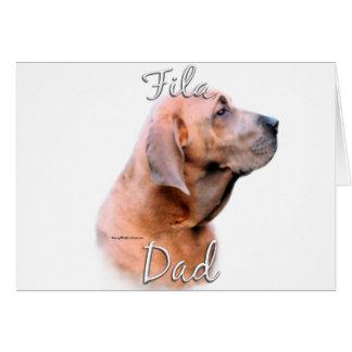 Fila Brasileiro Dad 2 Greeting Card