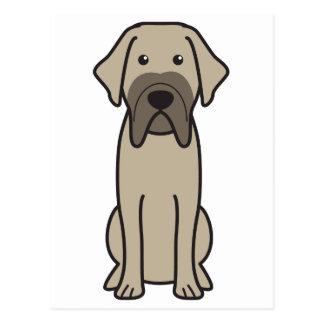 Fila Brasileiro Dog Cartoon Postcard