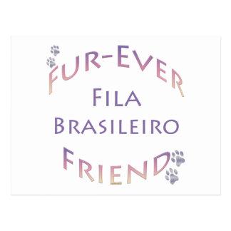 Fila Brasileiro Furever Postcard
