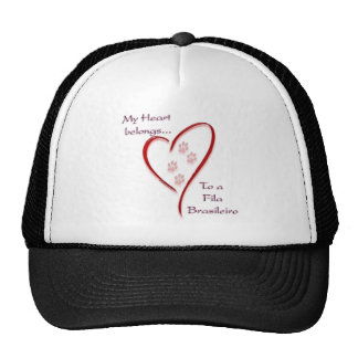 Fila Brasileiro Heart Belongs Mesh Hat