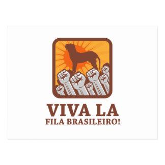 Fila Brasileiro Postcard