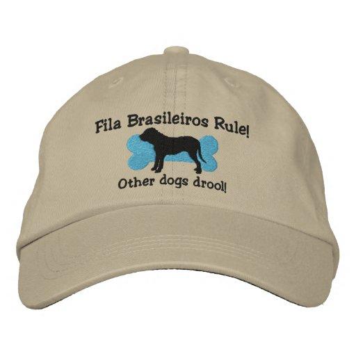 Fila Brasileiros Rule Embroidered Hat