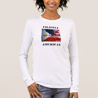FILAM 3, AMERICAN, FILIPINA LONG SLEEVE T-Shirt