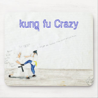 File0433, kung fu Crazy Mouse Mat