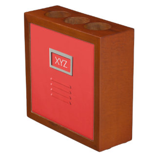 File Cabinet custom monogram desk organizer