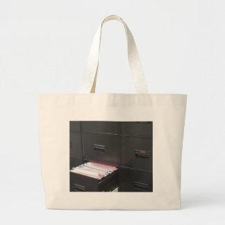 File cabinet large tote bag