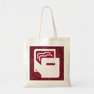 File Drawers Graphic Budget Tote Bag