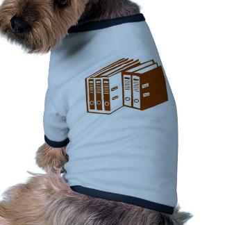File - Folder Dog Tshirt