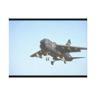 <<FilenaA-7 Fighter Jet_Military Aircraft Gallery Wrapped Canvas