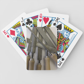 Files tools bicycle playing cards