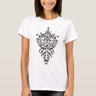 Filigree black T-Shirt
