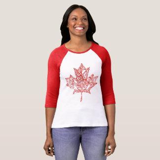 Filigree Maple Leaf T-Shirt