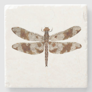 Filigree Skimmer Dragonfly Stone Coaster