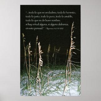 Filipenses 4-8b posters