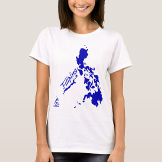 Filipina Philippine Islands Blue T-Shirt