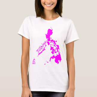 Filipina Philippine Islands Pink T-Shirt