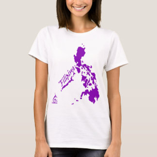 Filipina Philippine Islands Purple T-Shirt