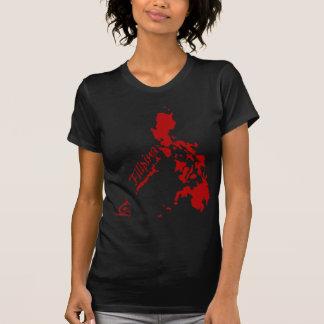 Filipina Philippine Islands Red T-Shirt