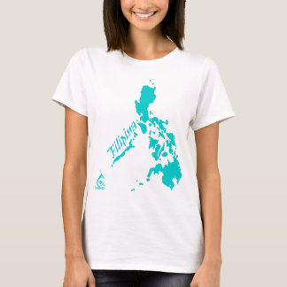 Filipina Philippine Islands Teal T-Shirt