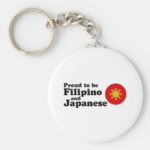 Filipino and Japanese Key Chain