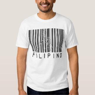 Filipino Barcode Tshirt