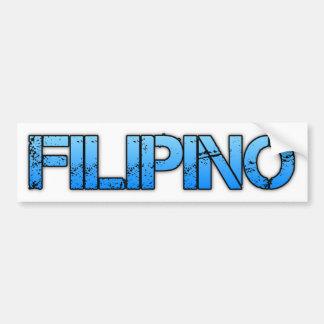 FILIPINO BUMPER STICKER