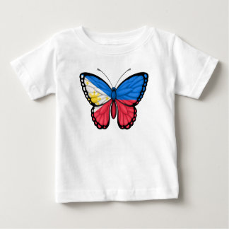 Filipino Butterfly Flag Baby T-Shirt