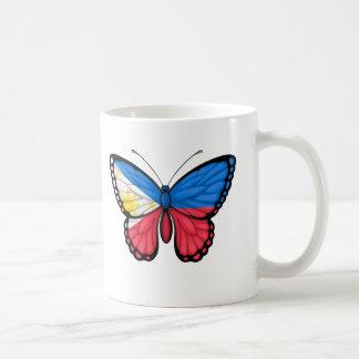 Filipino Butterfly Flag Mug