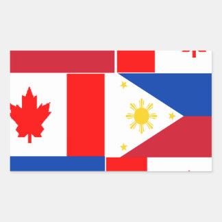 Filipino-Canadian.png Rectangular Sticker