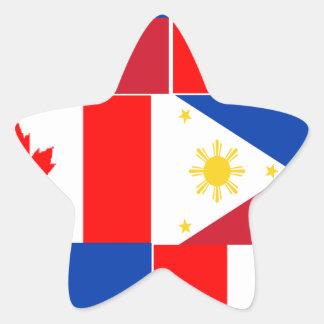 Filipino-Canadian.png Star Sticker