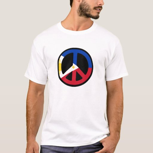 filipino flag peace T-Shirt