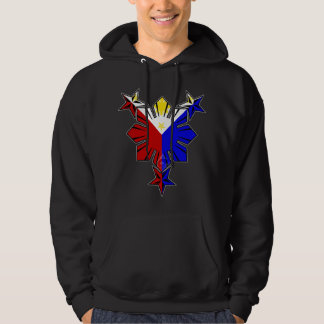 Filipino Flag Sun and Stars Hoody