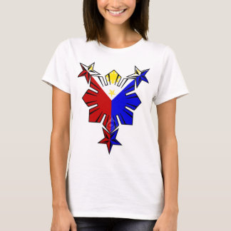Filipino Flag Sun and Stars Shirt