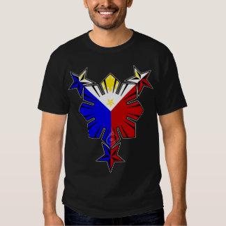 Filipino Flag Sun and Stars T Shirt