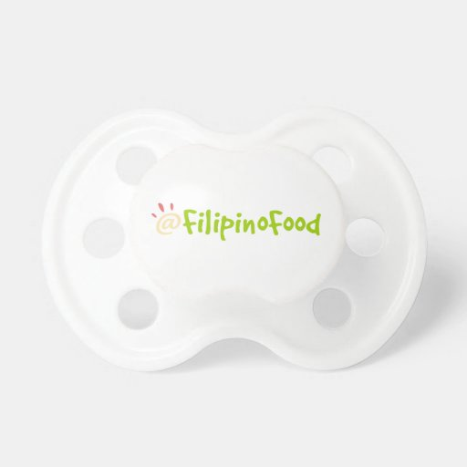 Filipino Food Pacifiers
