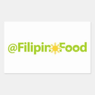 Filipino Food Rectangle Stickers