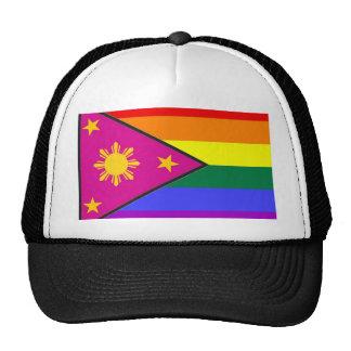 Filipino GLBT Pride Flag Hat