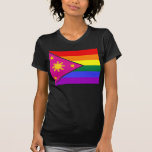 Filipino GLBT Pride Flag Tee Shirts