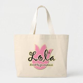 Filipino Lola Mother's Day Gift Large Tote Bag