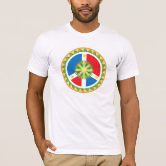 Filipino Peace Sign Mandala T-Shirt
