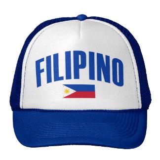 Filipino Philippine Flag Mesh Hats