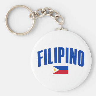 Filipino Philippine Flag Key Ring