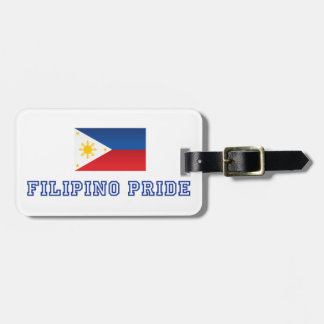 Filipino Pride 2 Luggage Tag