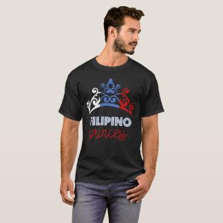 Filipino Princess Tiara National Flag T-Shirt